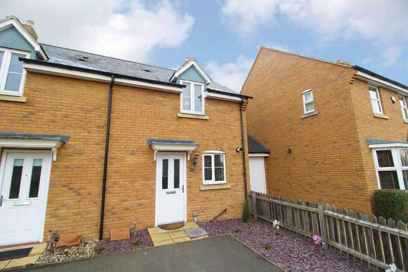 2 Bedrooms Semi Detached House for sale in Flitt Leys Close, Cranfield, MK43