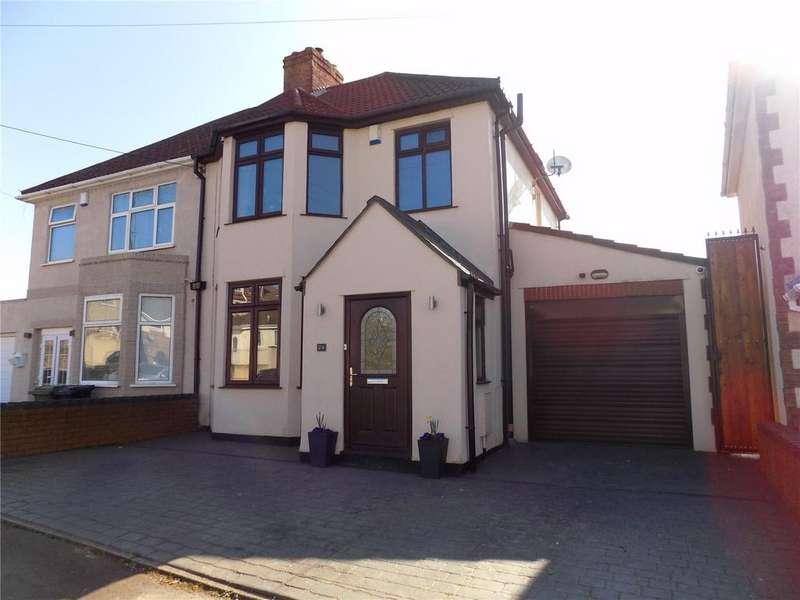 3 Bedrooms Semi Detached House for sale in Highfield Avenue, Hanham, Bristol, BS15