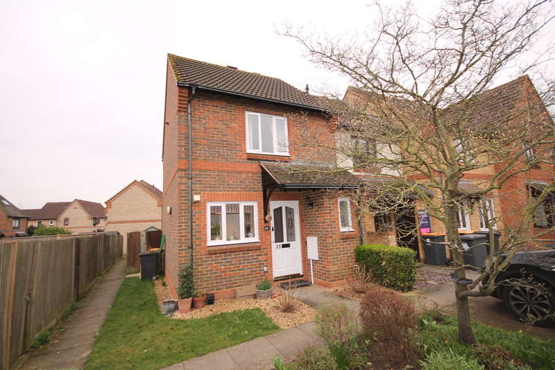 2 Bedrooms End Of Terrace House for sale in Boxgrove Priory, Riverfield, Bedford, MK41