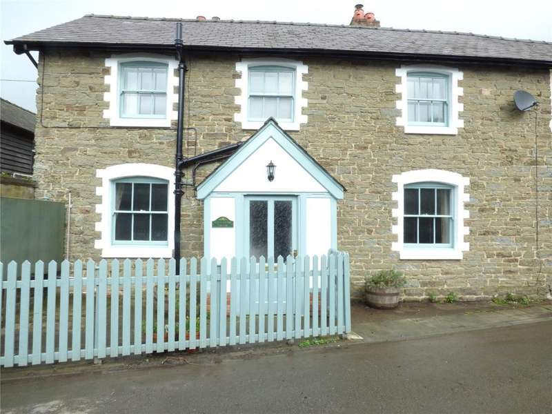 3 Bedrooms Semi Detached House for sale in Bucknell, Shropshire