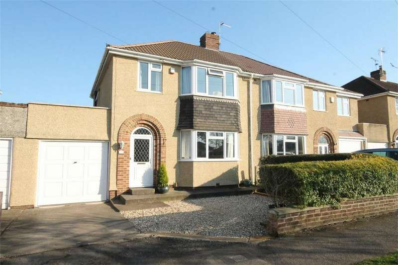 3 Bedrooms Semi Detached House for sale in Bromley Heath Road, Downend, Bristol