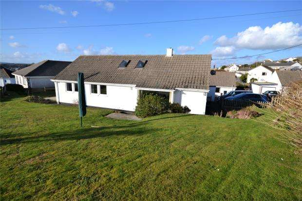 4 Bedrooms Detached Bungalow for sale in Cliff Rise, Polruan, Fowey, Cornwall