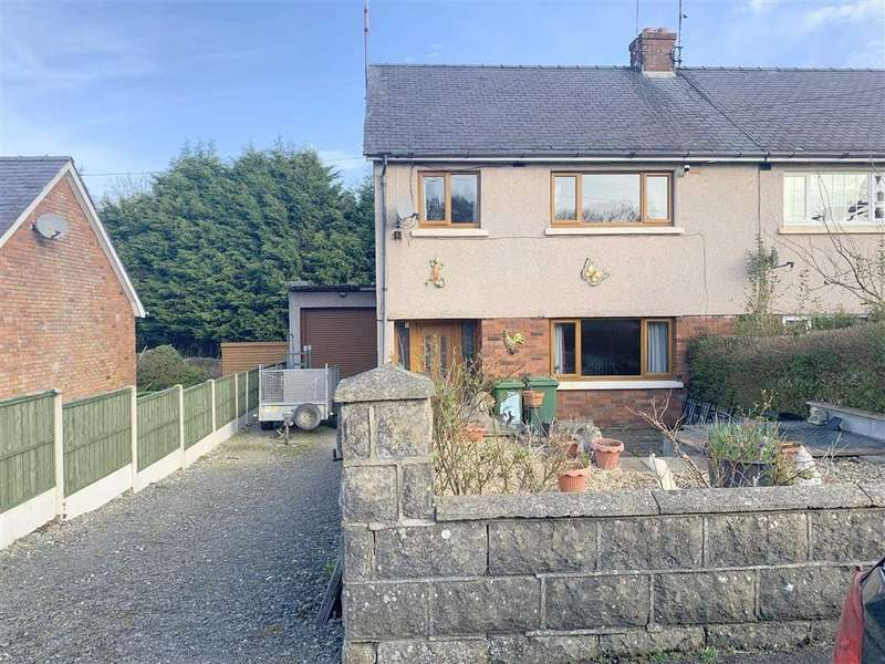 3 Bedrooms Semi Detached House for sale in Bro Gido, New Quay