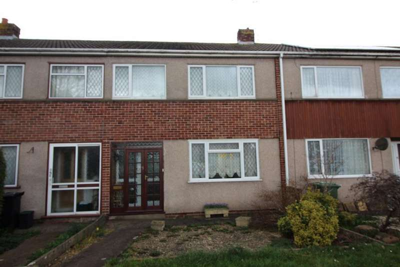 3 Bedrooms Terraced House for sale in Painswick Drive, Yate, Bristol, BS37 4EJ