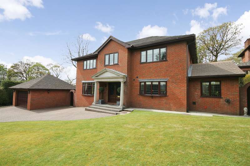 4 Bedrooms Detached House for sale in The Kilphin, Princess Road, Lostock, Bolton, BL6 4DR