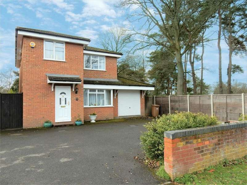 4 Bedrooms Detached House for sale in Yeovil Road, College Town, SANDHURST, Berkshire