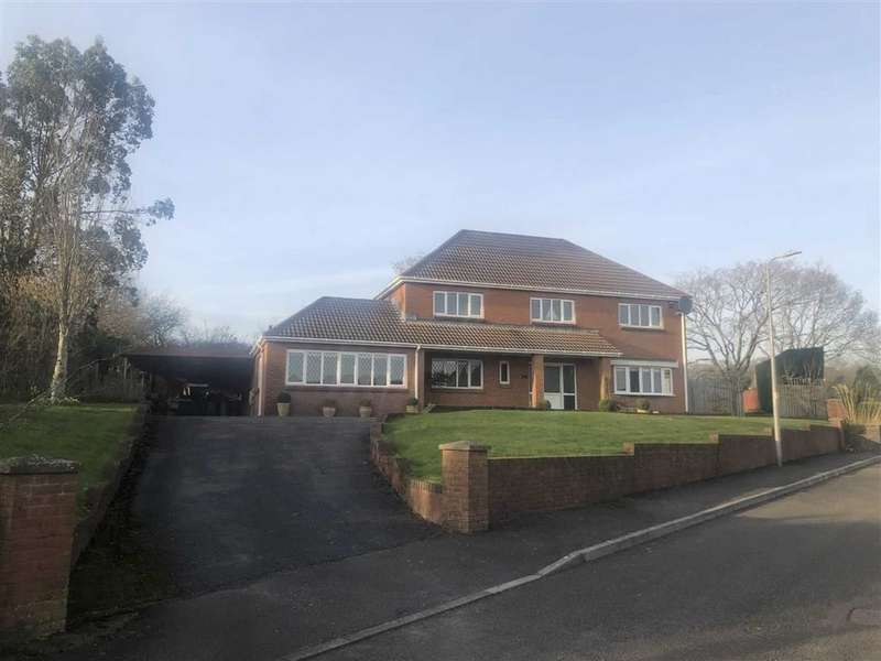 6 Bedrooms Detached House for sale in Clos Y Ddraenen, Swiss Valley, Llanelli