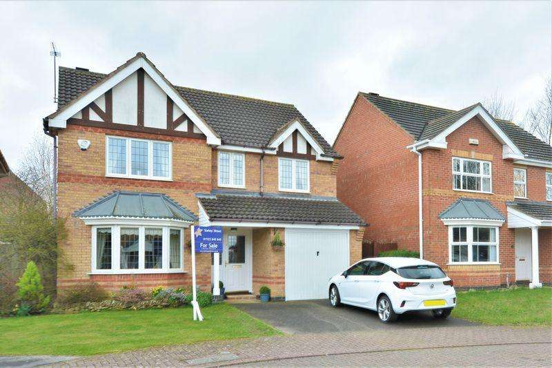 4 Bedrooms Detached House for sale in Sympson Close, Bunkers Hill, Lincoln