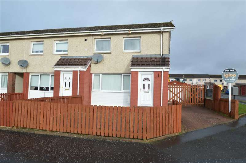 2 Bedrooms End Of Terrace House for sale in Balloch Road, Shotts