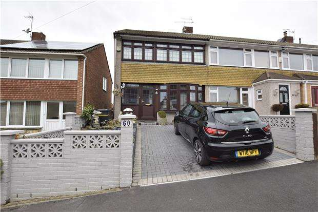 3 Bedrooms End Of Terrace House for sale in Nicholas Lane, St. George, BS5 8TH