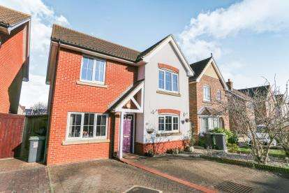 4 Bedrooms Detached House for sale in Sage Close, Biggleswade, Bedfordshire, .