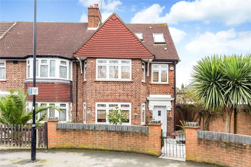 4 Bedrooms Semi Detached House for sale in Marlborough Road, Isleworth, TW7