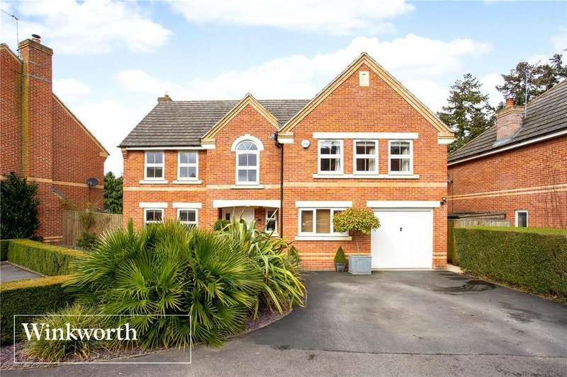 5 Bedrooms Detached House for sale in Lamtarra Way, Newbury, Berkshire, RG14