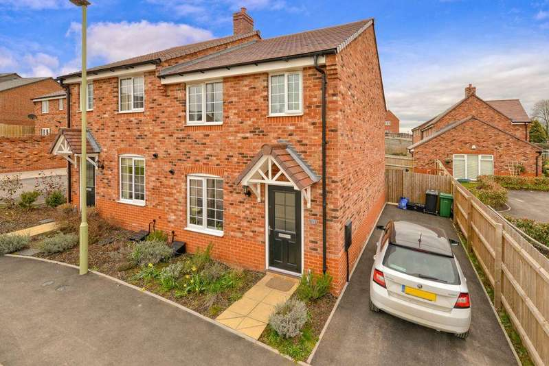 3 Bedrooms Semi Detached House for sale in Haycop Rise, Broseley, TF12