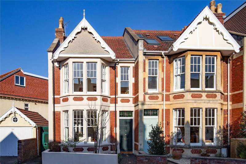 3 Bedrooms End Of Terrace House for sale in St Albans Road, Westbury Park, Bristol, BS6