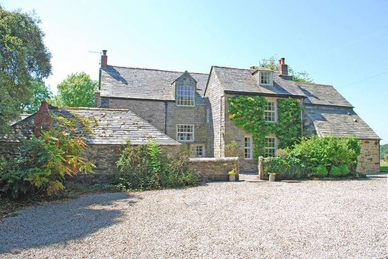 5 Bedrooms Detached House for sale in Blisland, between Wadebridge and Bodmin Moor, Cornwall