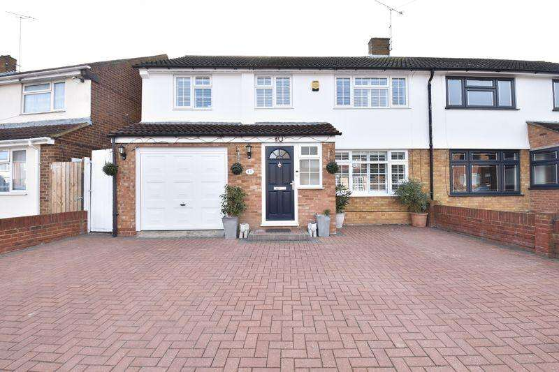 4 Bedrooms Semi Detached House for sale in Dunsby Road, Luton