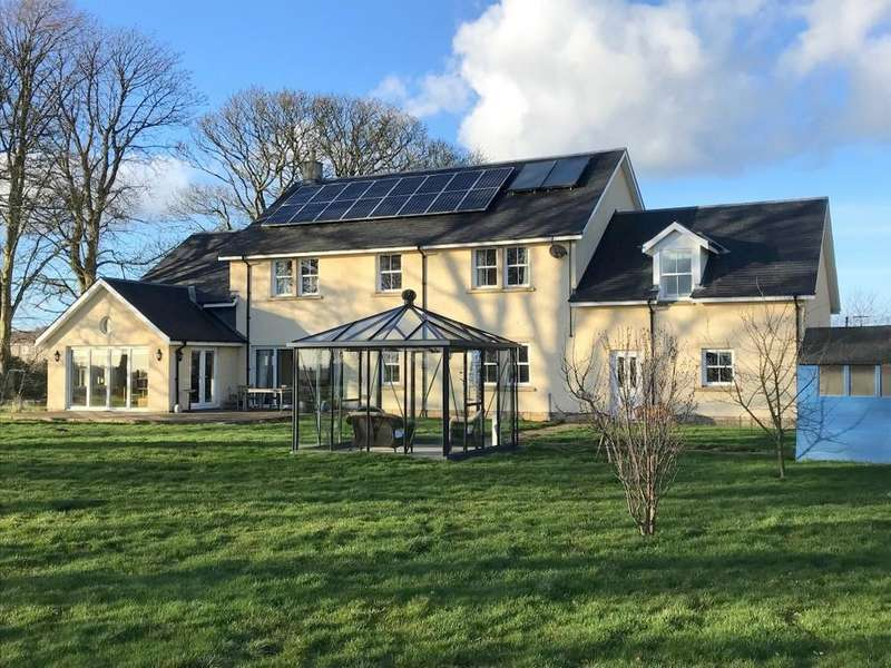 5 Bedrooms Detached House for sale in Foulden, Berwick upon Tweed
