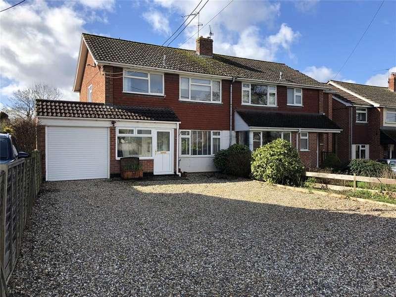 3 Bedrooms Semi Detached House for sale in Heath Road, Bradfield Southend, Reading, Berkshire, RG7