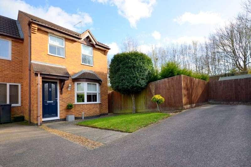 3 Bedrooms Semi Detached House for sale in Tewkesbury Close, Buckingham Fields, Northampton, NN4