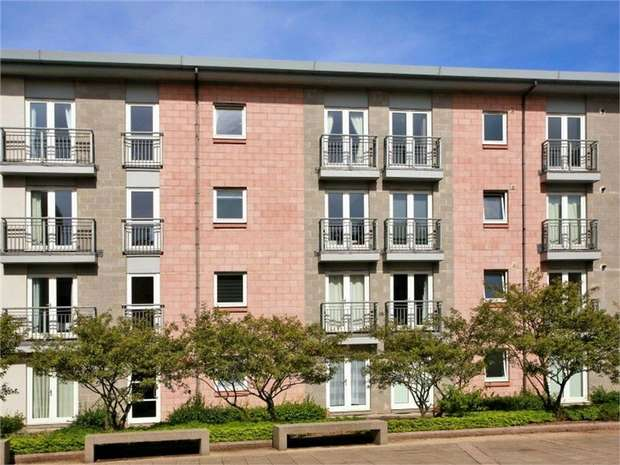 2 Bedrooms Flat for sale in Rubislaw Square, Aberdeen