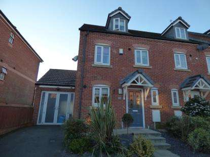 3 Bedrooms End Of Terrace House for sale in The Links, Newton, Hyde, Greater Manchester