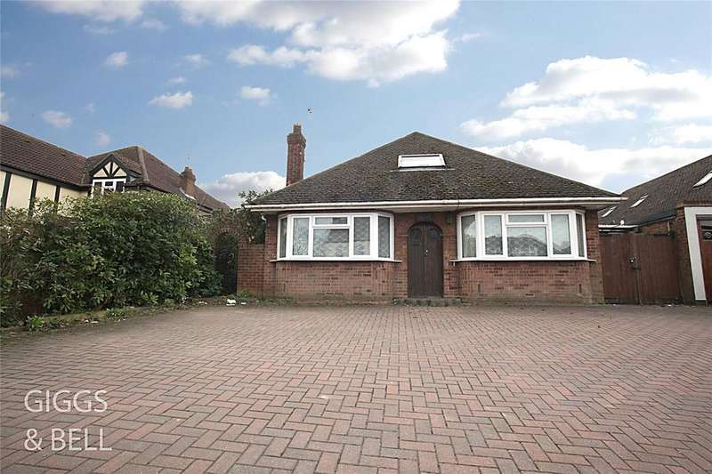 5 Bedrooms Detached Bungalow for sale in Ashcroft Road, Luton, Bedfordshire, LU2