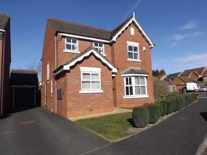 4 Bedrooms Detached House for sale in Bowness Grove, Coppice Farm, Willenhall, West Midlands