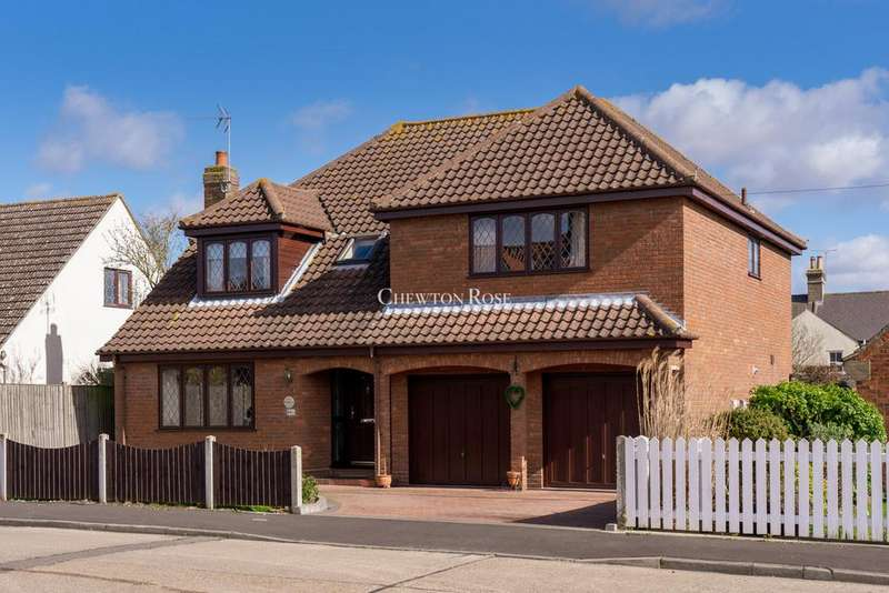 5 Bedrooms Detached House for sale in Albany Road, West Bergholt