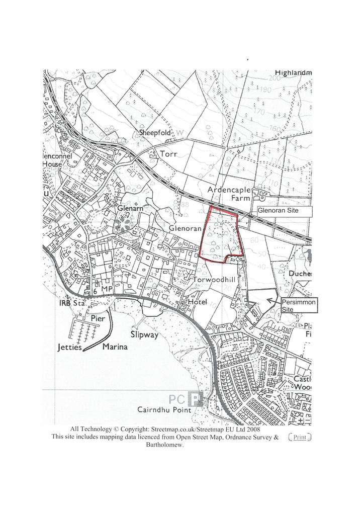 Plot Commercial for sale in Torwoodhill Road, Rhu, Helensburgh G84