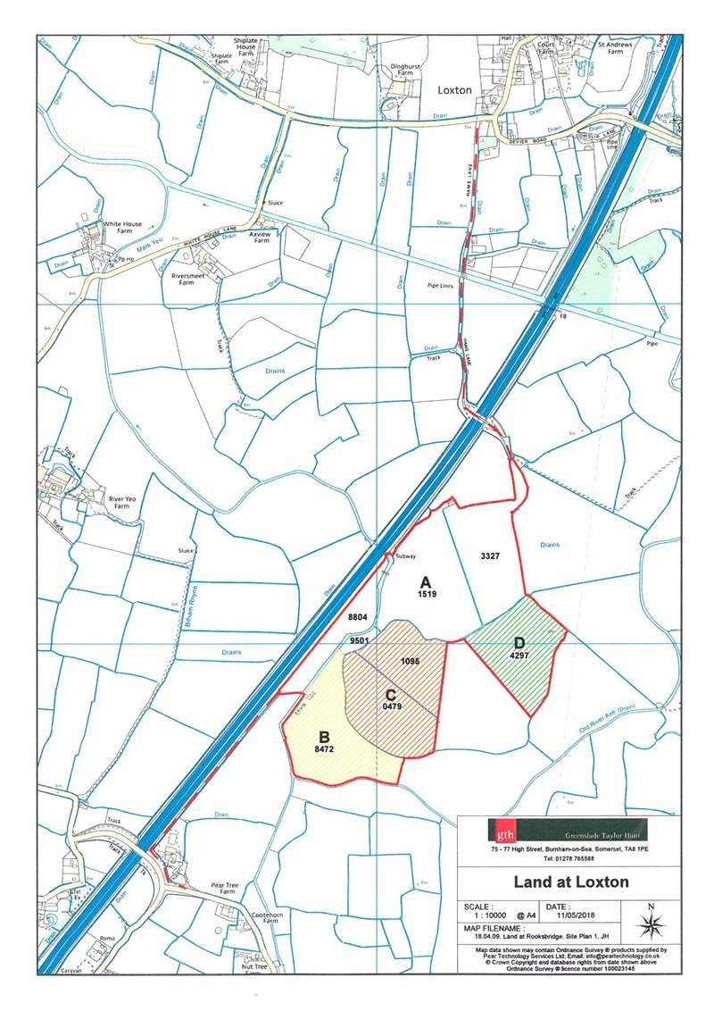 Land Commercial for sale in Mendip Road, Rooksbridge, Nr Axbridge, Somerset, BS26