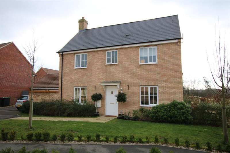 4 Bedrooms Detached House for sale in Bluebell Walk, Witham St. Hughs, Lincoln