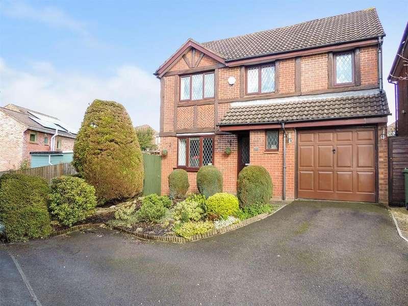 4 Bedrooms Detached House for sale in Ludlow Close, Willsbridge, Bristol