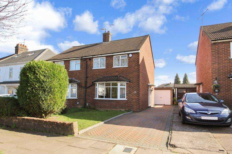 2 Bedrooms Semi Detached House for sale in Roman Road, Luton