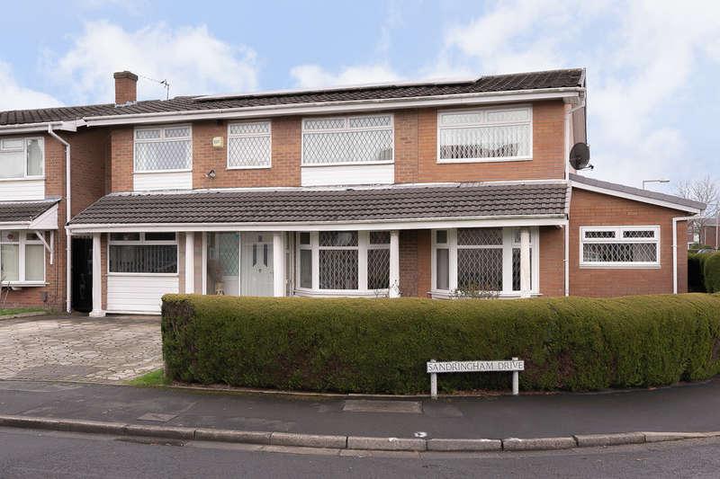 6 Bedrooms Detached House for sale in Sandringham Drive, Heaton Mersey