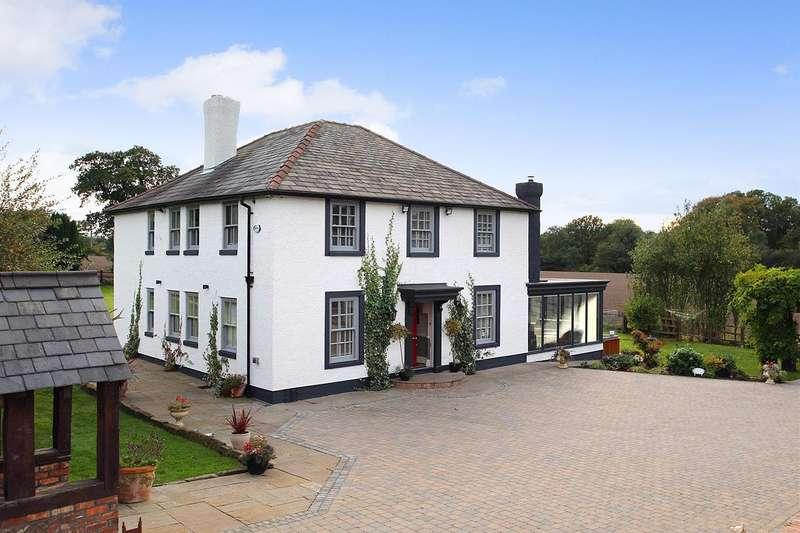 4 Bedrooms Detached House for sale in Lumb Brook Road, APPLETON, Warrington, WA4