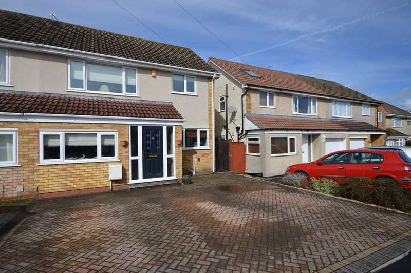 3 Bedrooms Semi Detached House for sale in Old Acre Road, Whitchurch, Bristol, BS14