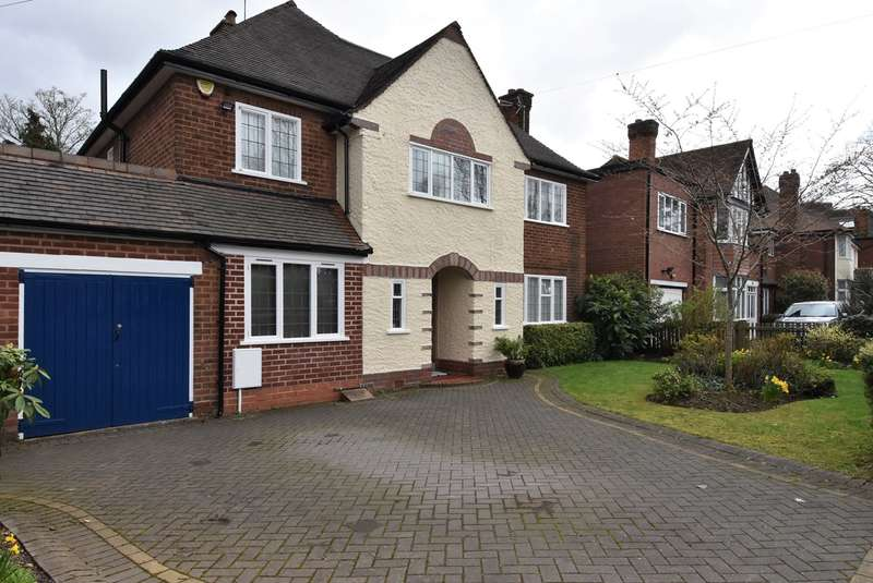 4 Bedrooms Detached House for sale in Selly Park Road, Selly Park, Birmingham, B29
