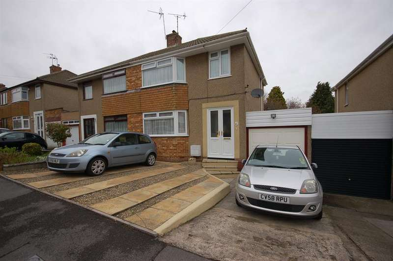 3 Bedrooms Semi Detached House for sale in Yew Tree Drive, Kingswood, Bristol, BS15 4UF