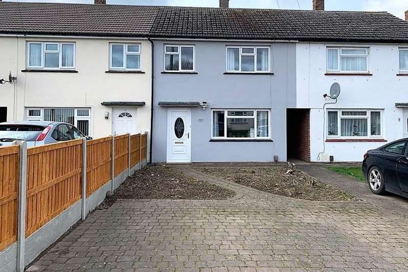 3 Bedrooms Terraced House for sale in Blakeney Crescent, Melton Mowbray