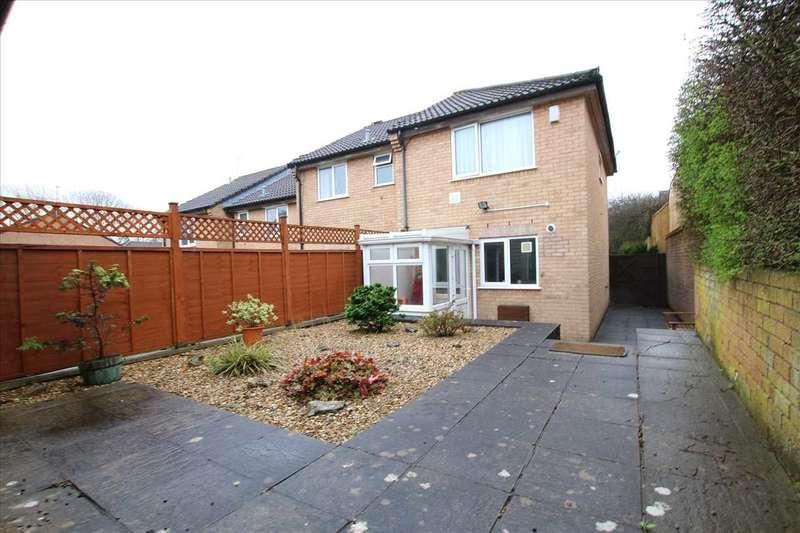 2 Bedrooms End Of Terrace House for sale in Glanville Gardens, Kingswood, Bristol