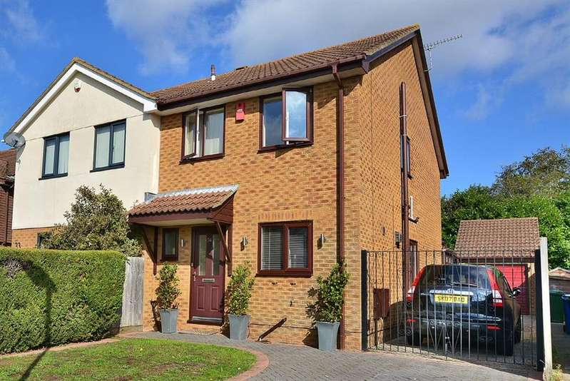 3 Bedrooms Semi Detached House for sale in Mcwilliam Close, Poole