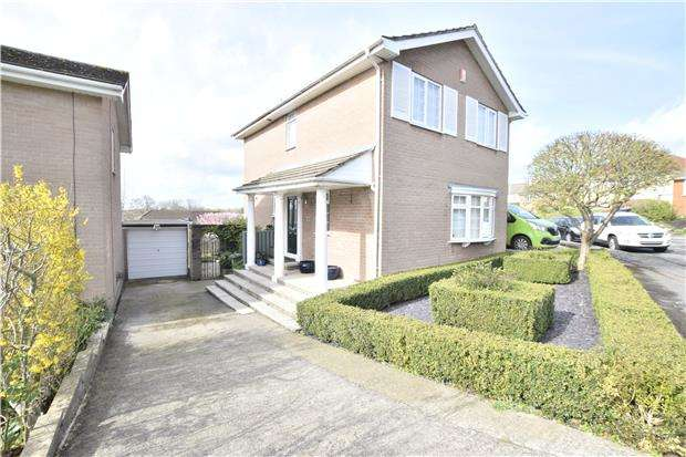 4 Bedrooms Detached House for sale in Footshill Close, Hanham, BS15 8HG