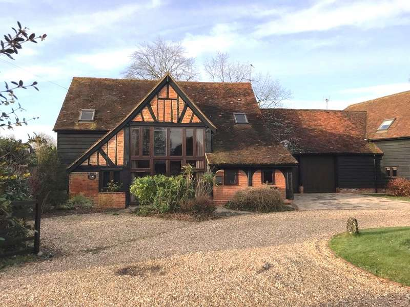 4 Bedrooms Detached House for sale in Robin Hood Way, Winnersh