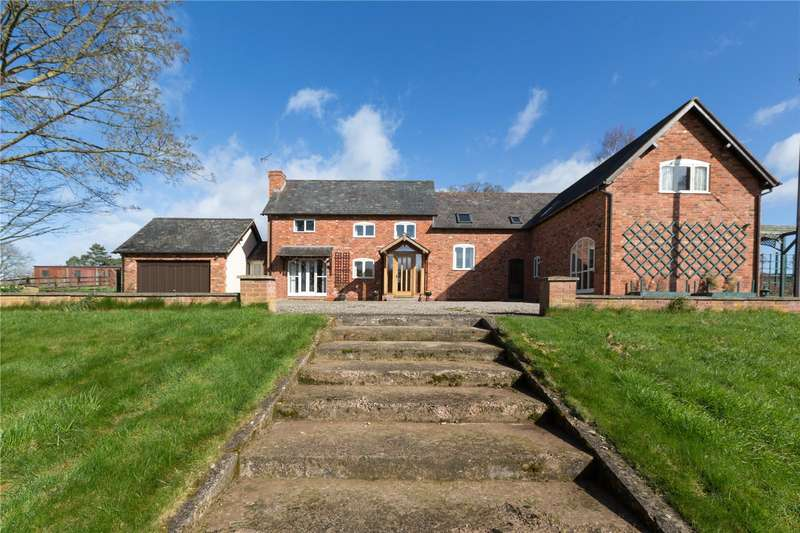 5 Bedrooms Detached House for sale in The Coach House, Eyton, Leominster, HR6