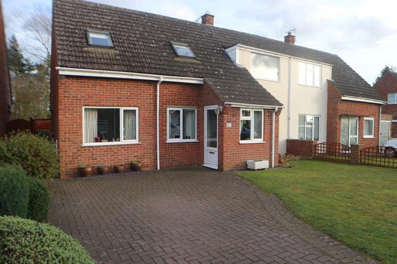 4 Bedrooms Semi Detached House for sale in Gordon Field, Market Rasen