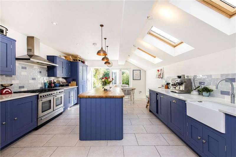 4 Bedrooms Semi Detached House for sale in Burrard Road, London, NW6