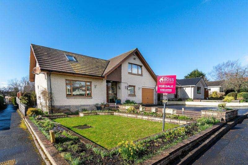 4 Bedrooms Detached Villa House for sale in 3 Lorimer Crescent, Cumnock KA18 1AJ