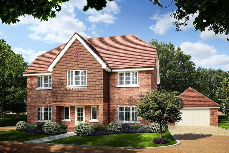 5 Bedrooms Detached House for sale in Larks Hill Place, Watersplash Lane, Warfield, Berkshire, RG42