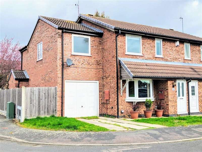 4 Bedrooms Semi Detached House for sale in Brosdale Drive, Hinckley